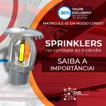 Sprinklers no Combate a Incêndio – Saiba a Importância